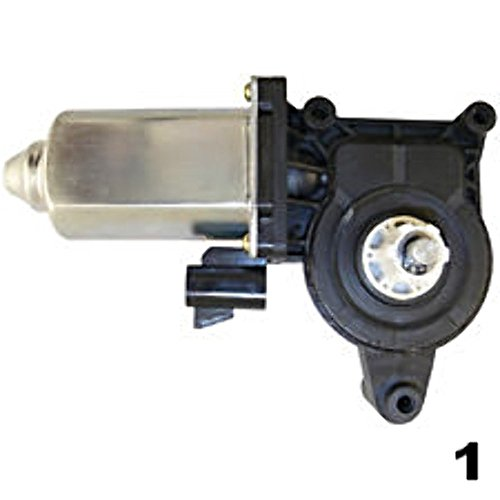 VAM Fits 99-06 GMC Trucks Right Pass Front/Rear Door Window Lift Motor 2 Pin Type