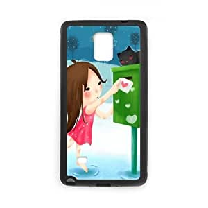Samsung Galaxy Note 4 Cell Phone Case Black_love me_133 Kcdue