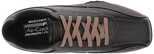 Skechers Mens Citywalk elison Oxford Black DZzhcl5