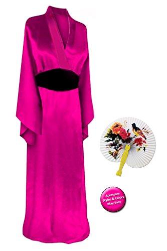 Solid (Plus Size Geisha Halloween Costumes)