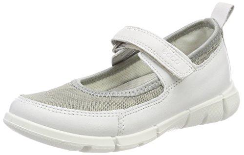 ECCO Intrinsic Sneaker, Mary Jane Para Niñas Blanco (Whitewild Dove)