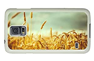 Hipster Samsung Galaxy S5 Case good cases wheatfield summer PC White for Samsung S5