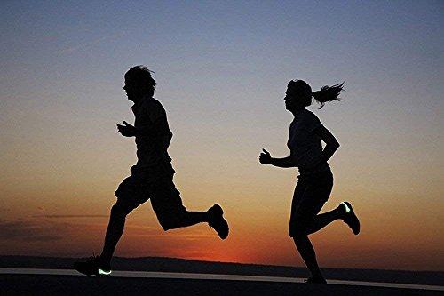 Chaussures Pied h Clips Course Equipment Sports Avertissement Nuit Plein Air Led red P De Lumière À qWRxBUntt