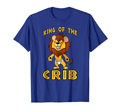 Mens Baby Lion Cub King of the Crib ABDL T Shirt -  NaughtyBoyz ABDL, Pup & Fetish Lifestyle T Shirts