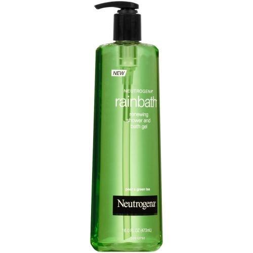 Neutrogena Rainbath Pear and Green Tea Renewing Shower and Bath Gel, 16 Fluid Ounce - 12 per case.