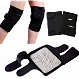 Elegant Enterprise Magnetic Therapy Knee Hot Belt Self Heating Knee pad Knee Support Belt Tourmaline Knee Braces Support Heating Belt - Free size