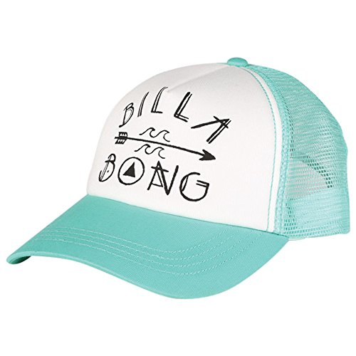 Billabong Junior's Rider Of The Sea Trucker Hat, MO Mint, One Size