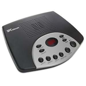 Spctelecom 1540 - Teléfono digital (Tiempo Máximo De Grabación 14 Minutos, Grabacion De Notas, 2 Mensajes Salientes.)