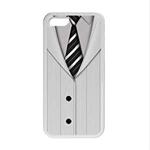 Best Custom Case ,Handsome Suit And Tie Design Apple iphone 5C TPU (Laser Technology) Case, Cell Phone Cover