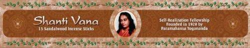 Shanti Vana Sandalwood Incense (Incense Shanti)