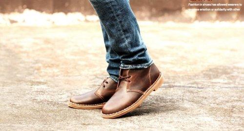 Happyshop (tm) Da Uomo In Pelle Martin Stivali Desert Boot Stivaletti Abbigliamento Formale Da Lavoro Deserto Scarpa Dapi