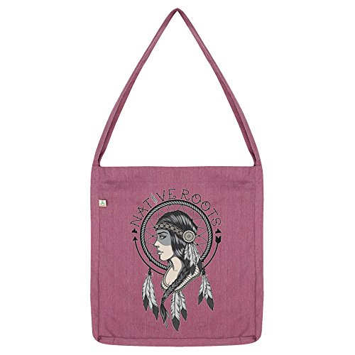 Bag American Indian Envy Twisted Pink Roots Tote Native wpnRxx8Z