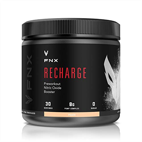 FNX Recharge PreWorkout Nitric Oxide Booster (Peach)