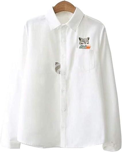 Leobtain - Camisa blanca para mujer, diseño literario ...