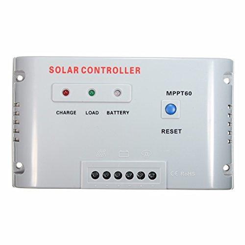 Ws Mppt60 60A 12V 24V Mppt Solar Panel Regulator Charge Controller With Led Indicator