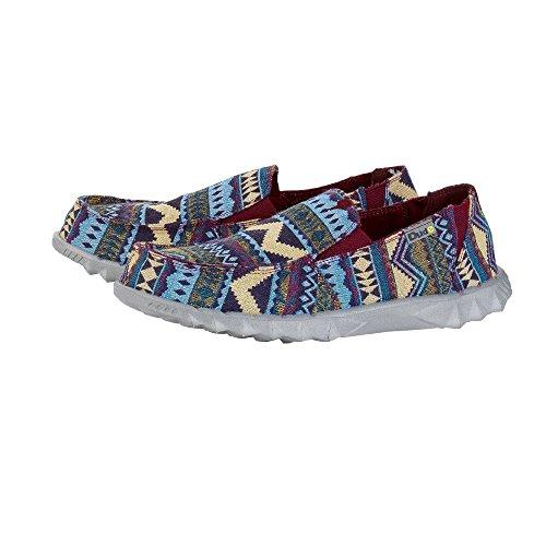 2 Men's Farty UK7 On Slip Dude Blue Mule Shoes Incas EU41 5wCxtq
