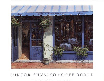 Cafe Royal by Viktor Shvaiko - 14x11 Inches - Art Print ()