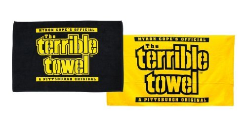 Pittsburgh Steelers Official Terrible Towels - Set of Two - NFL