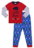 Family Bear Matching Long Pyjamas Matching PJs (4-5 Years) Red
