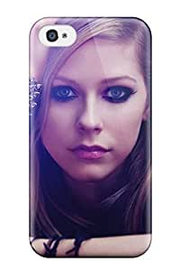 4/4s Scratch-proof Protection YY-ONE For Iphone/ Hot Celebrity Avril Lavigne Phone Case