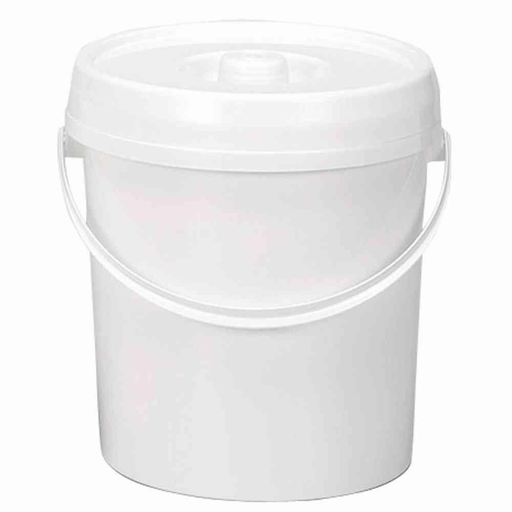 Lockweiler 106431177Nappy Bucket with Lid, 11L, Diameter 27cm, White