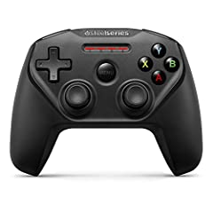 Play hundreds of your favorite controller-supported games with the new Nimbus wireless Controller on your Apple TV. This controller is full-sized, wireless, and based on an ergonomic console design. Other features include 40+ hours of gamepla...