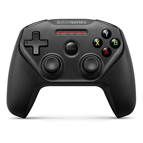 SteelSeries Nimbus Bluetooth Mobile Gaming Controller - Iphone, iPad, Apple TV - 40+ Hour Battery Life - Mfi Certified - Supports Fortnite Mobile (Best Size Tv For Gaming Ps4)