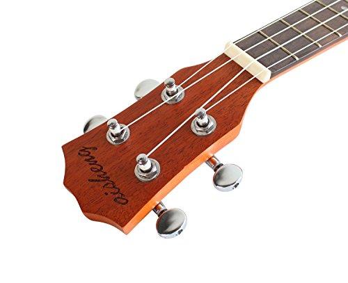 Concert Ukulele Mahogany 23 inch with Ukulele Accessories,Gig Bag,Strap,Nylon String,Electric Tuner,Picks - Image 9