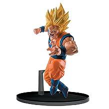 Banpresto Dragon Ball Super 5.1-Inch Super Saiyan 2 Goku Figure, SCultures Big Budoukai 6, Volume 4