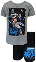 Star Wars The Clone Wars Boxer Brief and Tee Set for Little Boys
