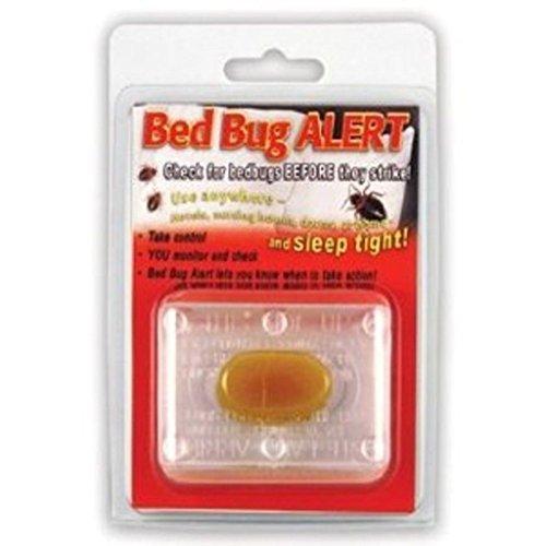 4 Bed Bug Alert Monitor Device Detection Glue Trap Test Testing Kit