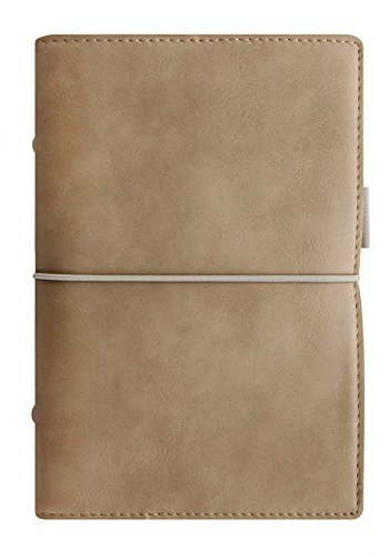 - Filofax Domino Soft Leather-Look Organizer 2019 Calendar Agenda Weekly Planner with DiLoro Jot Pad (Personal 2019 Fawn)
