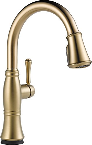 9197T CZ DST Single Handle Pull Down Technology Champagne
