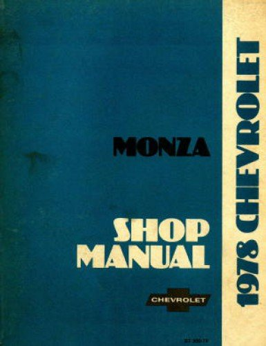 ST-300-78 Used 1978 Chevrolet Monza Service Manual