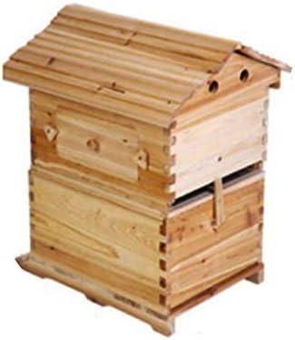 蜂ハイブキットウッドビーハイブ用養蜂家ボックス用品機器ツールハニーボックスハウス用スターター初心者のための耐久性とクリーン汚染なし