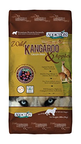 Addiction Wild Kangaroo & Apples Grain Free Dry Dog Food, 20 Lb.