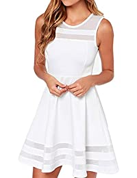 Amazon.com: White - Casual / Dresses: Clothing, Shoes & Jewelry