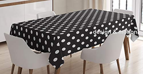 4 PC Polka Dot Design Pattern Dots Tablecover 54