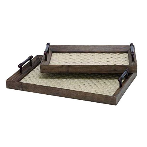 wood-burlap-fabric-serving-tray-with-side-walls-metal-handles-rectangle-natural-large-17x26