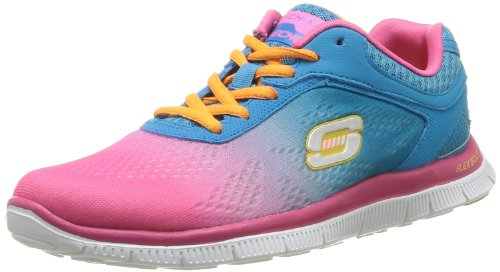 Blue Women's Fashion Icon Hot Pink Sport Skechers Style q4zH0Zq
