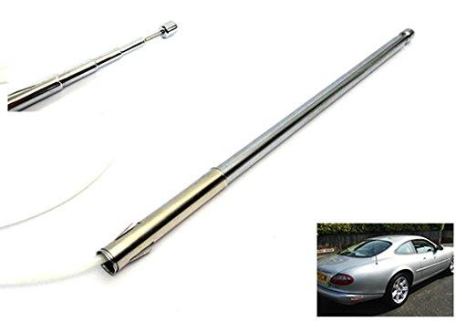 Power Antenna Aerial AM FM Radio Replacement Mast Cable for Jaguar XJ6 XJ8 XJR XK8 XKR Vanden Plas