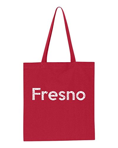Ugo Fresno CA California Map Flag Home of University of Los Angeles UCLA USC CSLA Tote Handbags Bags Work School - Fresno Outlets