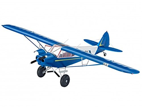 Revell Germany Piper PA-18 with Brush Wheels Airplane Model Kit (Cub Model Piper)