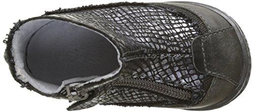IKKS Scarlet - Zapatos de primeros pasos Bebé-Niños Negro - Noir (11 Vte Croco/Noir Dpf/Link)