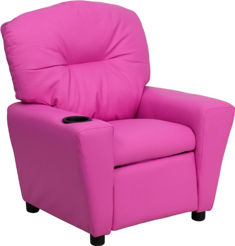 Flash Furniture Contemporary Hot Pink Vinyl Kids Recliner with Cup Holder  sc 1 st  Amazon.com & Amazon Best Sellers: Best Kidsu0027 Recliners islam-shia.org