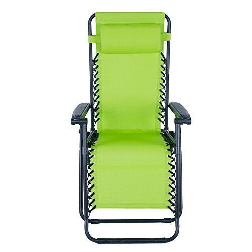 EDECO Outdoor Foldable Zero Gravity Folding and Reclining...