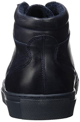 Bianco Warm High Top Son16, Botines para Hombre Azul - Blau (Navy Blue/30)
