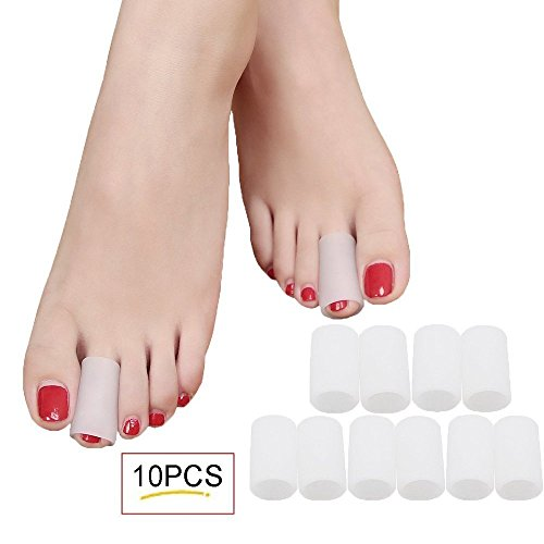 SMFHealth Toe Sleeves Protectors White product image