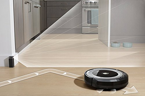iRobot Roomba 690 Wi-Fi Connected Robotic Vacuum Cleaner + 1 Dual Mode Virtual Wall Barrier (With Batteries) + Extra Filter + More by iRobot (Image #1)'