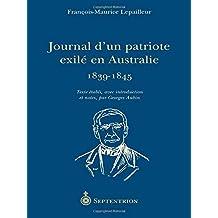 Journal d'un patriote exilé en Australie